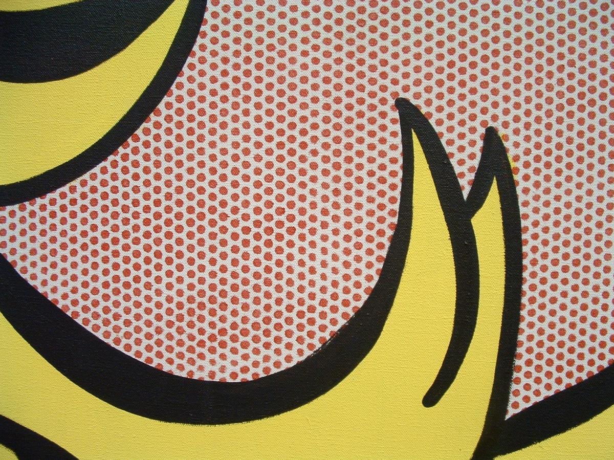 Roy Lichtenstein au Centre Pompidou - Beaubourg