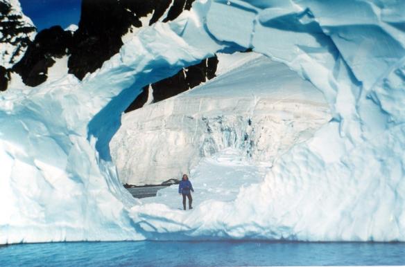Photo Carole DARCHY - Péninsule Antarctique, Janvier 1991 - REPRODUCTION INTERDITE