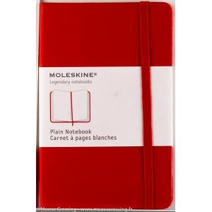 Moleskine - Carnet- Couleur Rouge