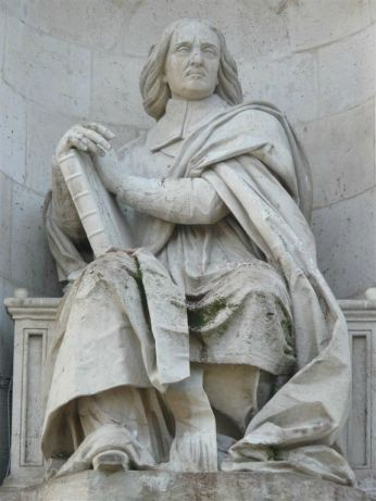 Statue de Bossuet - Fontaine des quatre évêques, Place Saint Sulpice - Paris