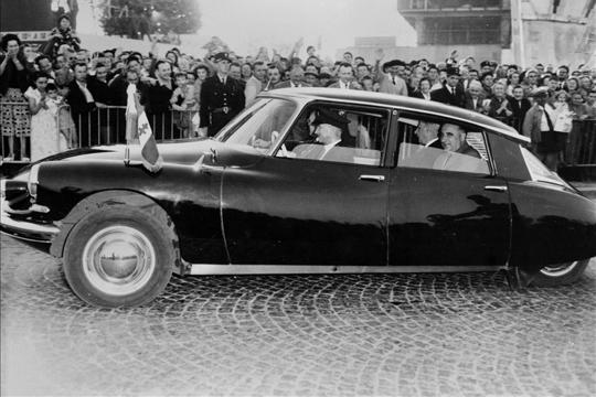 Citroën SM a prezident G. Pompidou