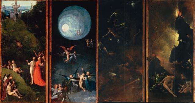 Vision de l'Au-delà - Bosch - La renaissance et le rêve