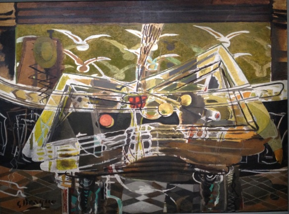 Braque-Le billard ; Musée de Caracas