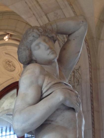 """L'esclave """"mourant"""" - Michel Ange - Musée du Louvre"""