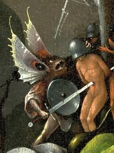 détail jardin delices Bosch
